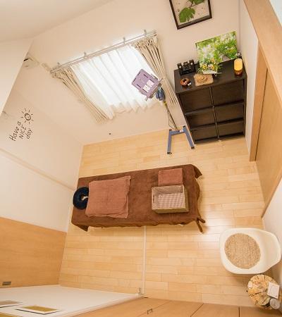 藤沢市大庭の鍼灸マッサージサロンなのはな|室内